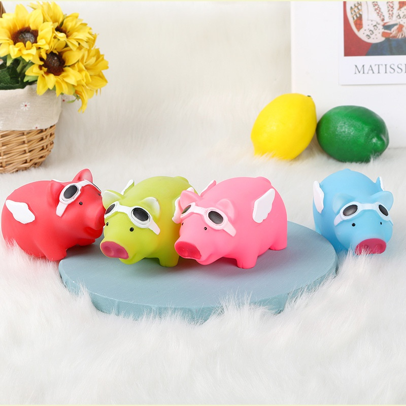 Pet Sounding Toy Dogs Molar Teeth Resistant Biteresistant Toy Angel Pig  NHPSM443472