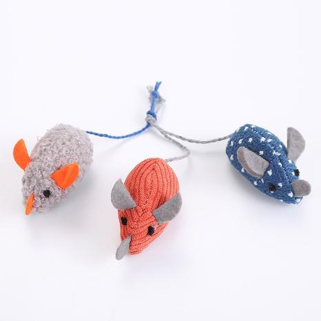 juguetes para mascotas nuevo ratón de peluche lindo juguete ratón gato juguete al por mayor NHSUJ447741's discount tags