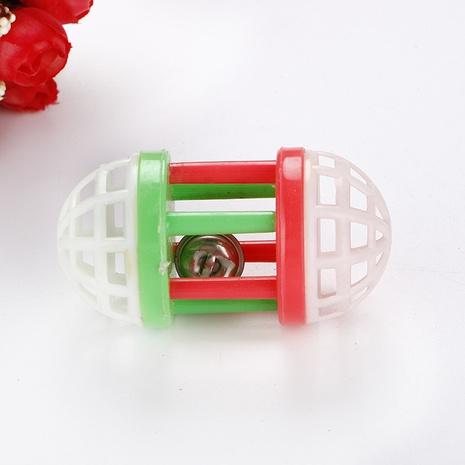 Gato juguete juguete bola campana bola mancuerna color plástico rodillo gato suministros para mascotas NHSUJ448927's discount tags