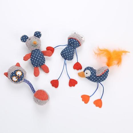 juguetes para mascotas nuevos productos juguetes de peluche varios modelos de animales juguetes para gatos al por mayor NHSUJ448928's discount tags