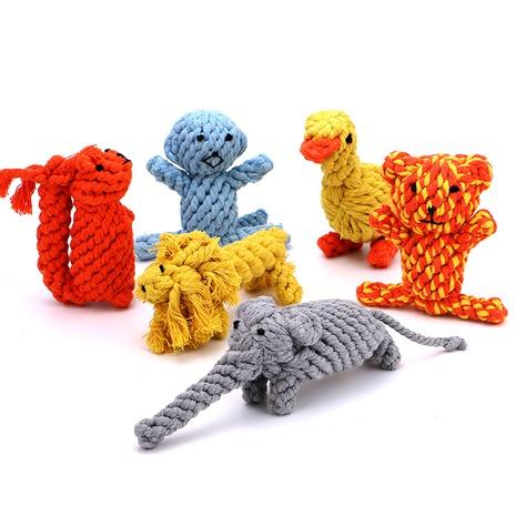 wholesale modelado de animales cuerda de algodón juguete perro mordedura cuerda juguete para perros juguete para mascotas perro molar NHSUJ448938's discount tags