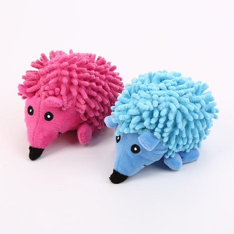 juguetes para mascotas nueva fregona felpa erizo juguete para perros que suena juguete de felpa al por mayor NHSUJ448947's discount tags