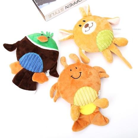 juguetes para mascotas nueva torta redonda forma animal juego de sonido juguete de peluche para perros al por mayor NHSUJ448948's discount tags