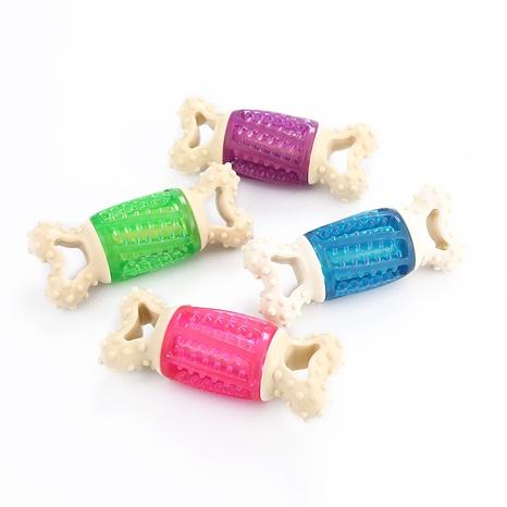 juguetes para mascotas nueva forma de hueso TPR que suena molar juguete para perros de juguete al por mayor NHSUJ448955's discount tags
