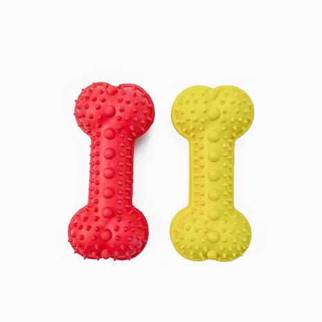 juguetes para mascotas nuevos productos juguetes de goma spiller hueso mordedura de perro juguete para perros al por mayor NHSUJ448962's discount tags