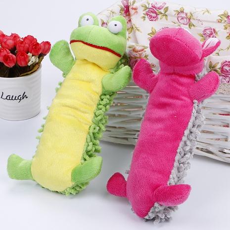 juguetes para mascotas nuevo producto trapeador felpa tarjeta de papel felpa que suena juguete perro juguete al por mayor NHSUJ448963's discount tags