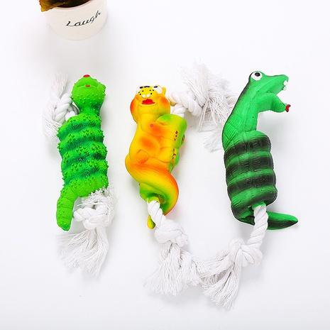juguetes para mascotas cuerda de algodón más juguetes con sonido de látex juguetes para perros suministros para mascotas al por mayor NHSUJ448979's discount tags