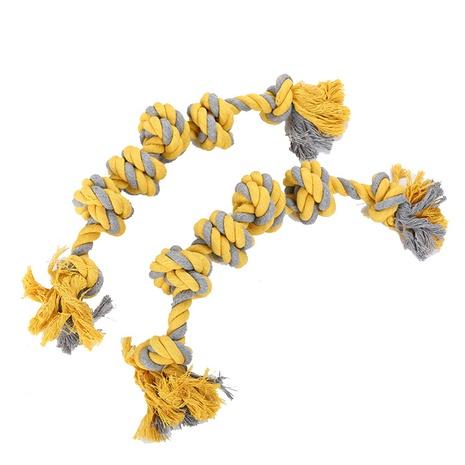 Molar mascota perro cuerda de algodón juguete nuevo perro grande juguete interactivo suministros para mascotas al por mayor NHSUJ448986's discount tags