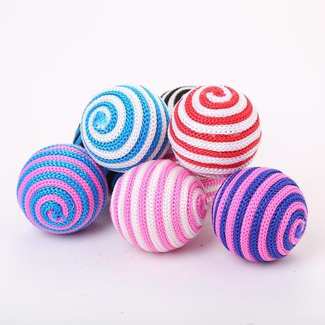 juguetes para mascotas nuevo color bola de cuerda de juguete bola de juguete para gatos suministros para mascotas al por mayor NHSUJ448989's discount tags
