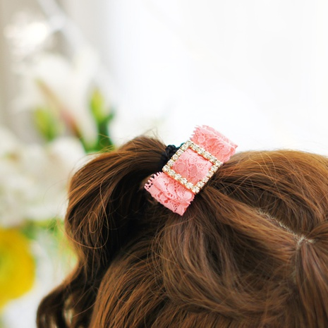 Korean version of the bow tie lace bow tie Korean version of the head tie NHAYP458097's discount tags