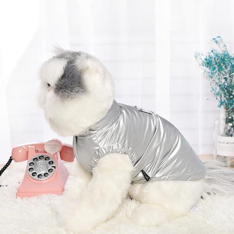 new pet clothes cat dog vest pet cat vest thickened plus fleece jacket NHPSM438181's discount tags