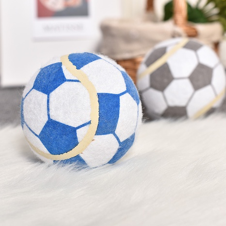 dog toy bite resistant teeth cleaning molar latex toy ball pet interactive vocal training ball pet supplies NHPSM438170's discount tags