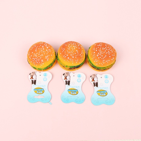 dog toy 2019 new new vinyl toy burger dog supplies pet toy vocal burger NHPSM438172's discount tags