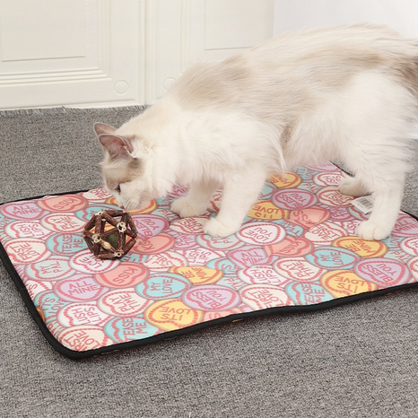 pet sleeping pad cats and dogs four seasons universal pad cool breathable cat pad summer thin waterproof dog sleeping pad cushion NHPSM438156's discount tags