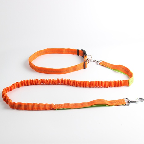 pet leash multifunctional running reflective dog leash elastic dog leash dog leash NHZHX438149's discount tags