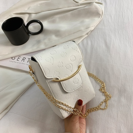 autumn 2021 new fashion chain messenger mobile phone bag  NHRU438646's discount tags