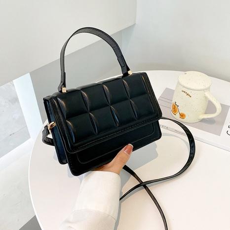 2021 new Korean fashion trendy rhombus messenger bag  NHRU438659's discount tags