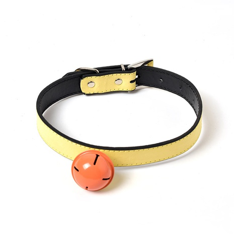 New pet supplies dog leather adjustable collars a variety of dog cats bell collars NHZHX435234's discount tags