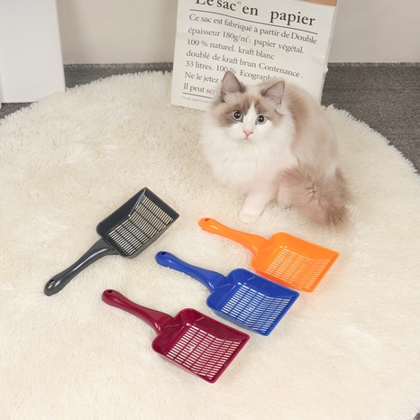 pet cleaning shovel tool is suitable for bentonite and other cat litter pet supplies cat feces shovel wholesale NHPSM438179's discount tags