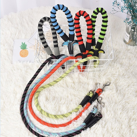Dog traction rope medium and large dog pet dog chain collar golden retriever samoyed husky walk the dog rope tie the dog NHPSM438177's discount tags