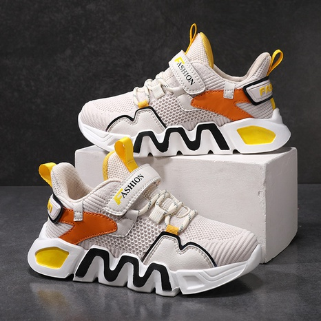 boys autumn new children's sports shoes mesh comfortable kids casual shoes student shoes NHLIA440956's discount tags