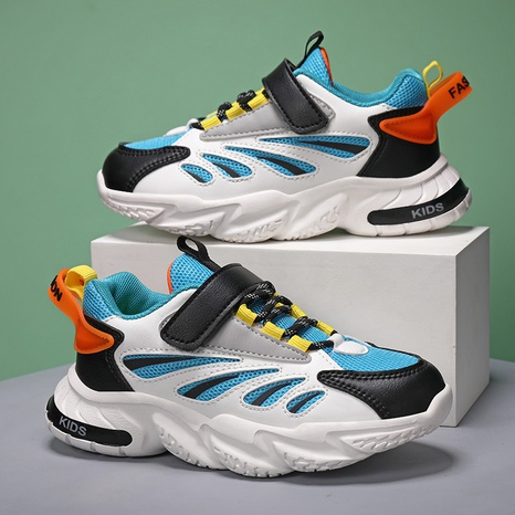 Spring and autumn new children mesh sports and leisure student shoes NHLIA440972's discount tags