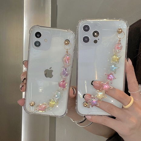Candy color love star bracelet is suitable for iphone mobile phone protective case NHKI441307's discount tags