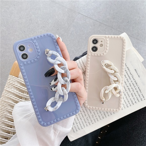 Love photo frame marble short bracelet suitable for iphonemobile phone shell lens all inclusive new soft shell NHKI441308's discount tags