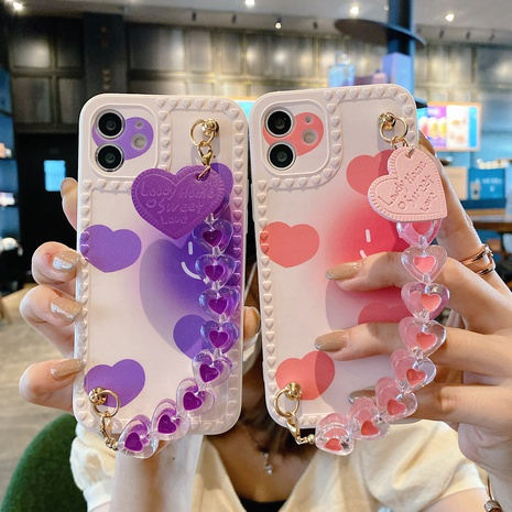 Love photo frame Love bracelet for iphonemobile phone shell lens all-inclusive diy protective cover NHKI441313's discount tags