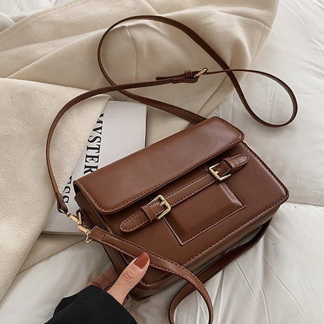 British style autumn and winter retro small square messenger bag  NHGA441382's discount tags