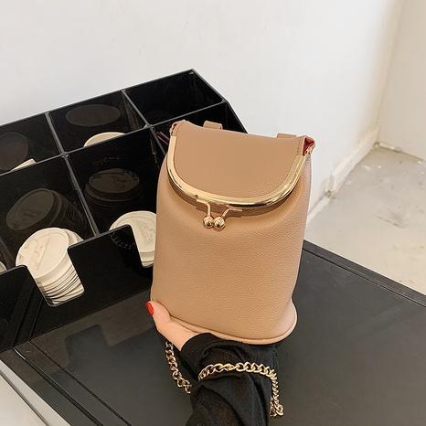 Korean version fashion chain mobile phone bag shoulder messenger dinner bag NHGA441402's discount tags