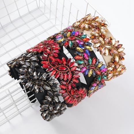 bandeau de fleur en alliage simple NHJE313622's discount tags