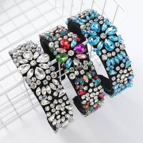 nouveau bandeau de fleur de diamant de mode de flanelle NHJE313623's discount tags