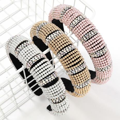bande de cheveux strass diamant de mode NHJE313624's discount tags