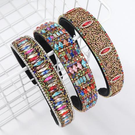 nouveau bandeau géométrique en flanelle de mode NHJE313625's discount tags
