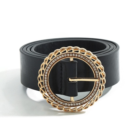 British style new alloy round belt NHJQ313646's discount tags