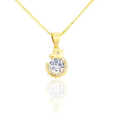collier zodiaque zirconium avec pendentif en cuivre NHBP313755's discount tags