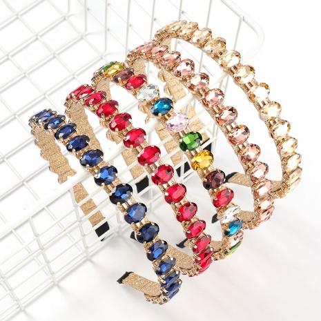 serre-tête diamant en alliage simple NHJE313812's discount tags