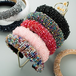 crystal beaded headband  NHLN315393