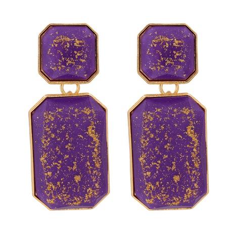 retro resin geometric earrings NHJJ315413's discount tags