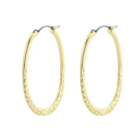 Boucles d'oreilles en cuivre géométriques simples coréennes NHJQ315436's discount tags