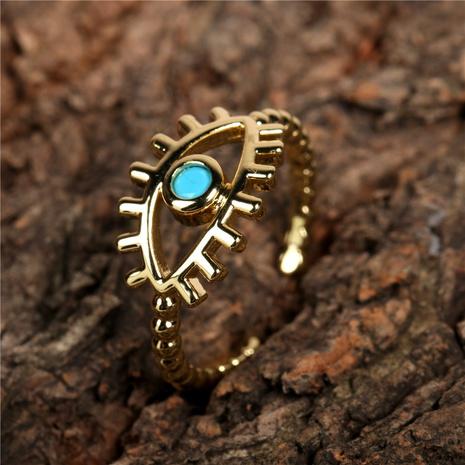 Neue Farbe Zirkon Augen öffnen Ring NHPY315511's discount tags