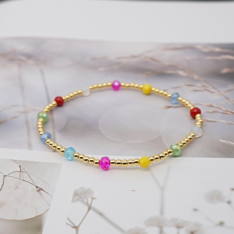 Simple Bohemian Style Beaded Bracelet NHGW315530's discount tags