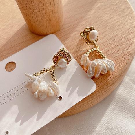 fashion retro pearl earrings NHHI315569's discount tags