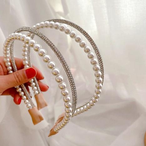 Neues Diamantperlen einfaches Stirnband NHHI315572's discount tags