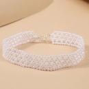 creative handwoven pearl necklace NHLA315576