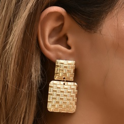 fashion new geometric earrings NHAJ315462