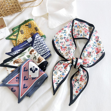 bufanda de seda larga de doble cara de primavera y otoño NHMN315649's discount tags