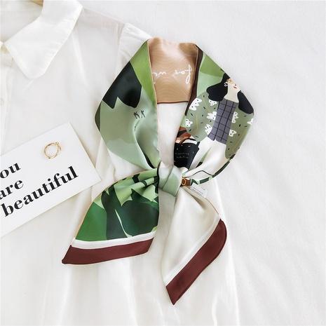 Bufanda de seda de moda de dibujos animados NHMN315654's discount tags