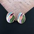 NHOM1452828-Color-oval-silver-needle-stud-earrings